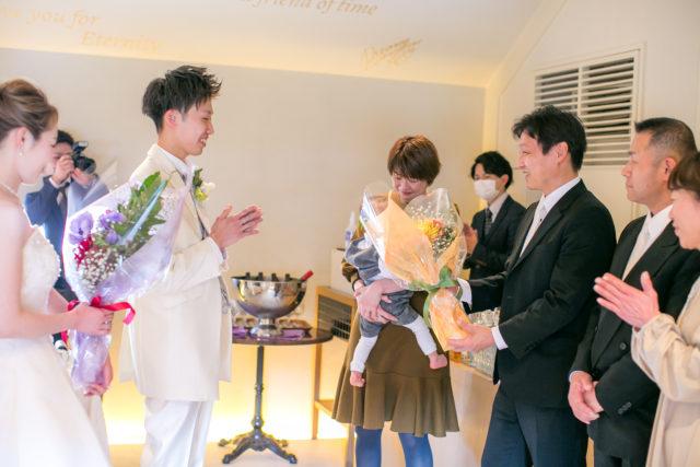 少人数結婚式,家族婚,会食ウェディング,大阪,中之島